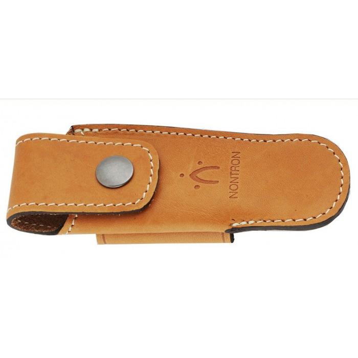 Natural leather case for pocket knives N°30 BO