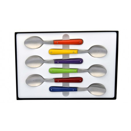 Set of 6 coffee spoon