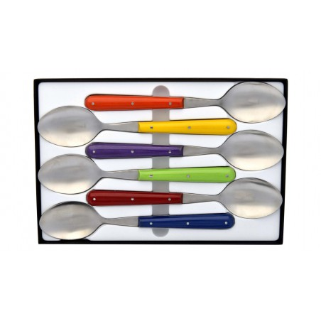 Set of 6 soup spoon